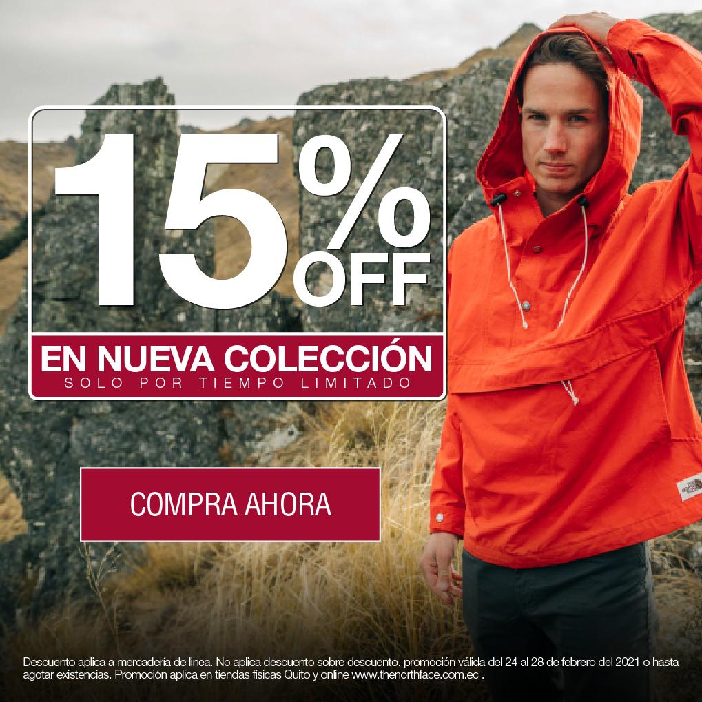 15% Off Nueva Colección