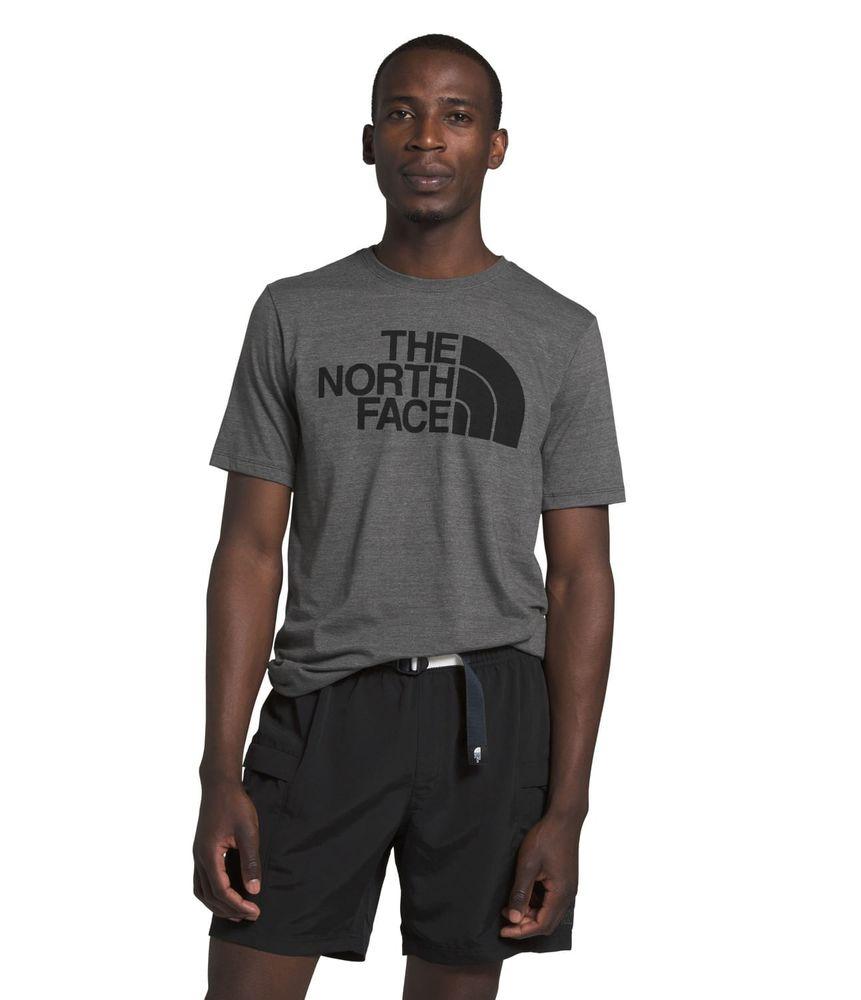 camiseta-manga-corta-half-dome-triblend-hombre-gris-the-north-face